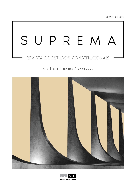 Visualizar v. 1 n. 1 (2021): Suprema - Revista de Estudos Constitucionais